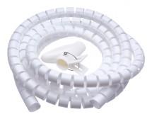 Trubica pre vedenie káblov WINDER Connect IT CI679, 2,5m, biela