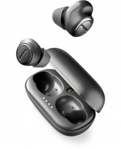 True Wireless slúchadlá Cellularline PLUME, čierne