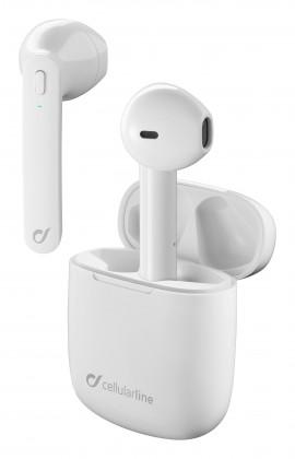 True Wireless slúchadlá Cellularline TWS slúchadlá Aries, Double master tech.