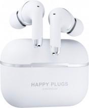 True Wireless slúchadlá Happy Plugs AIR 1 ANC, biele