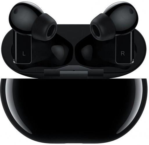 True Wireless slúchadlá Huawei FreeBuds Pro, čierne