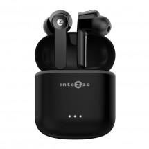 True Wireless slúchadlá Intezze EGO BassFix, čierne