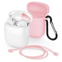 True Wireless slúchadlá Meliconi MySound Safe Pods 5.1, ružové