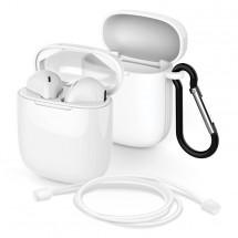 True Wireless slúchadlá Meliconi SAFE PODS biele