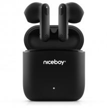 True Wireless slúchadlá Niceboy Hive Beans, čierna