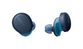 True Wireless slúchadlá Sony WF-XB700, modré