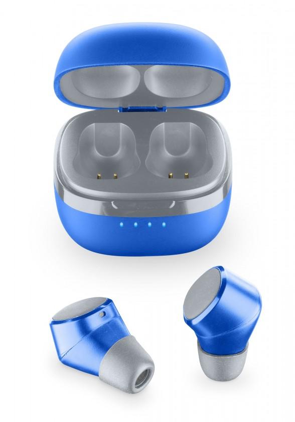 True Wireless slúchadlá True Wireless slúchadlá Cellularline Evade, modré
