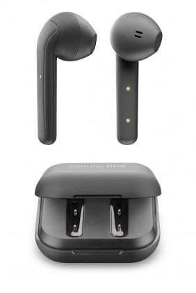 True Wireless slúchadlá True wireless slúchadlá CellularLine Java s dobíjacím púzdrom