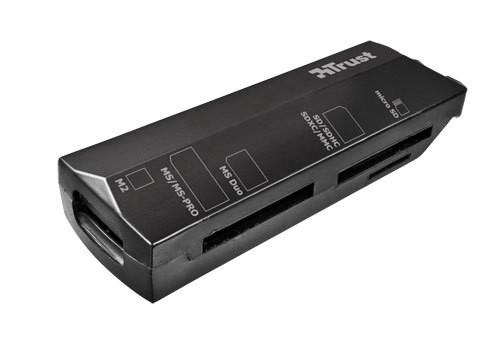 TRUST Čítačka pamäťových kariet Stello Mini, USB