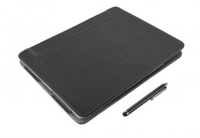 Trust eLiga Elegant Folio Stand stylus for iPad, čierna ROZBALENÉ