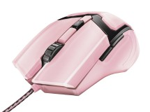 Trust GXT 101P Gav Optical Gaming Mouse - pink