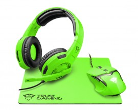 TRUST GXT790-SB Spectra Gaming Bundle - green 22463