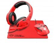 TRUST GXT790-SB Spectra Gaming Bundle - red (22471) ROZBALENÉ