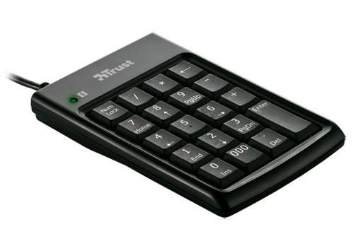 Trust Numeric Keypad & USB Hub (KP-1200p)