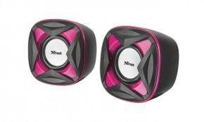 TrustXilo Compact 2.0 Speaker Set, ružové 21181