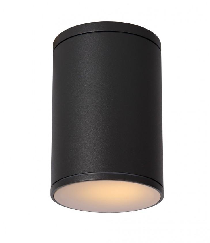 Tubix - vonkajšie osvetlenie, 60W, E27 (čierna)