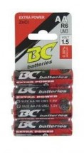 Tužková batéria BR64PAA ZnCl 4x AA