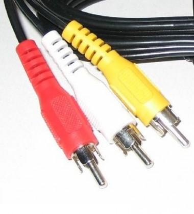 TV káble, adaptéry 3xCINCH / 3xCINCH kábel PremiumCord 2m