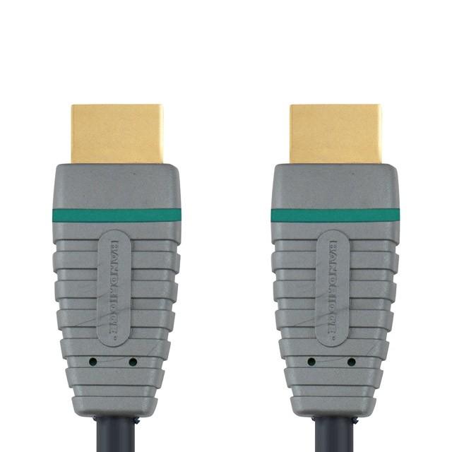 TV káble, adaptéry HDMI / HDMI TV kábel Bandridge 5m
