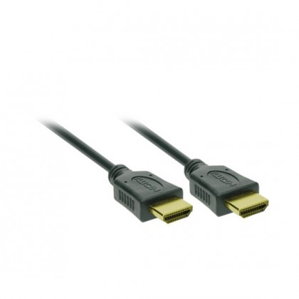 TV káble, adaptéry HDMI / HDMI TV kábel Solight 2m