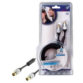 TV káble, adaptéry Koaxiální kabel 2,5m