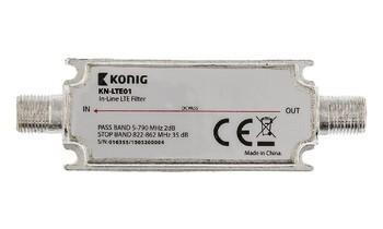 TV káble, adaptéry Linkový LTE filter