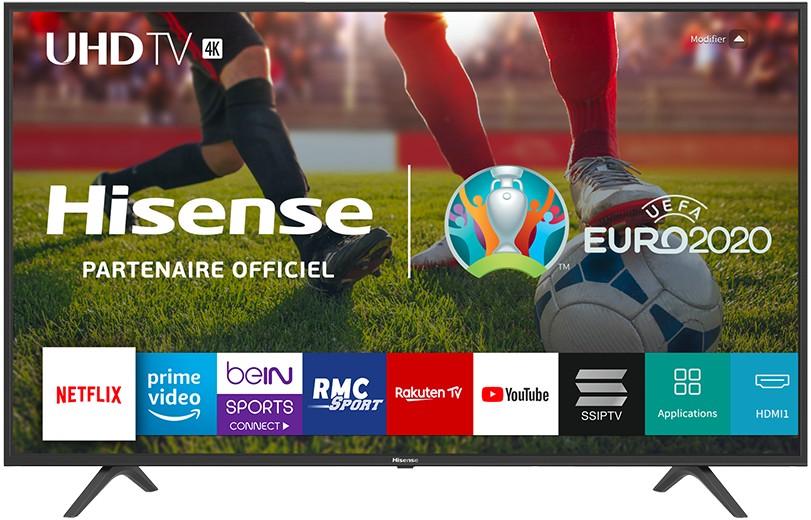 """TV s uhlopriečkou 40 až 43"""" (101 až  109 cm) Smart televízor Hisense H43BE7000 (2019) / 43"""" (108 cm)"""