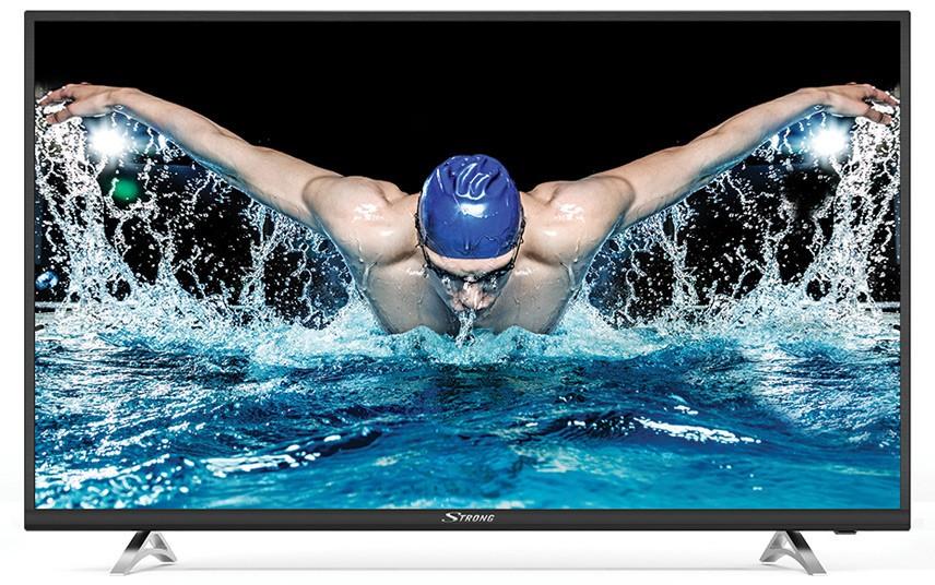 """TV s uhlopriečkou 40 až 43"""" (101 až  109 cm) Smart televízor Strong SRT43UA6203 (2018) / 43"""" (108 cm)"""