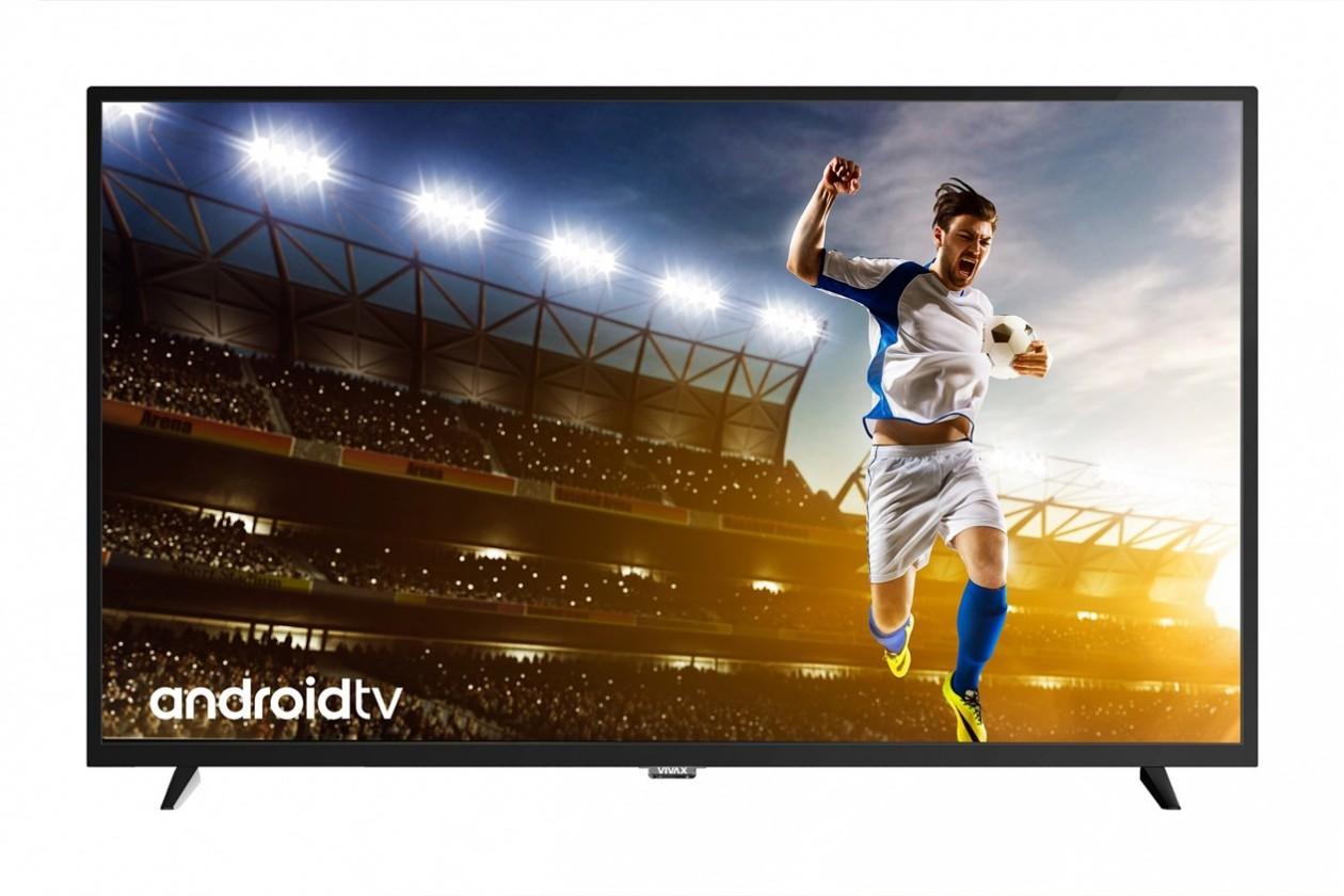 """TV s uhlopriečkou 48 až 50"""" (122 až 127 cm) Smart televízia Vivax LED TV 49S60T2S2SM (2019) / 49"""" (124cm)"""