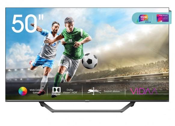 """TV s uhlopriečkou 48 až 50"""" (122 až 127 cm) Smart televízor Hisense 50A7500F (2020) / 50"""" (126 cm)"""