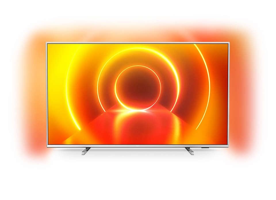 """TV s uhlopriečkou 48 až 50"""" (122 až 127 cm) Smart televízor Philips 50PUS7855 (2020) / 50"""" (126 cm)"""