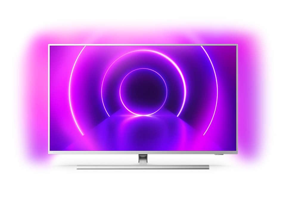"""TV s uhlopriečkou 48 až 50"""" (122 až 127 cm) Smart televízor Philips 50PUS8535 (2020) / 50"""" (126 cm)"""