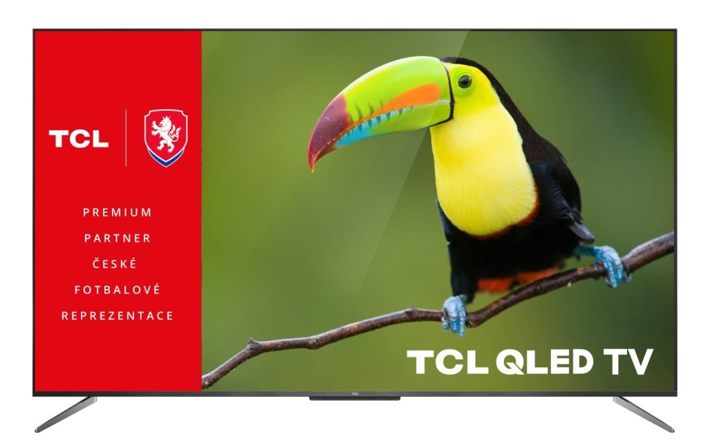 """TV s uhlopriečkou 48 až 50"""" (122 až 127 cm) Smart televízor TCL 50C715 (2020) / 50"""" (126 cm)"""