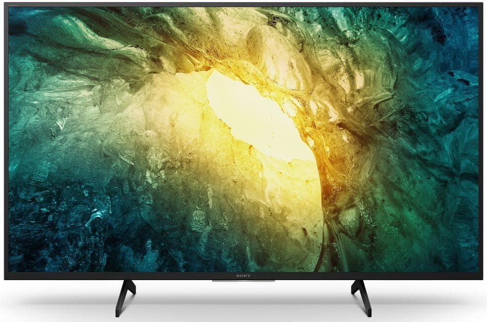 "TV s uhlopriečkou 55"" (139 cm) Smart televízor Sony KD-55X7055 (2020) / 55"" (139 cm)"