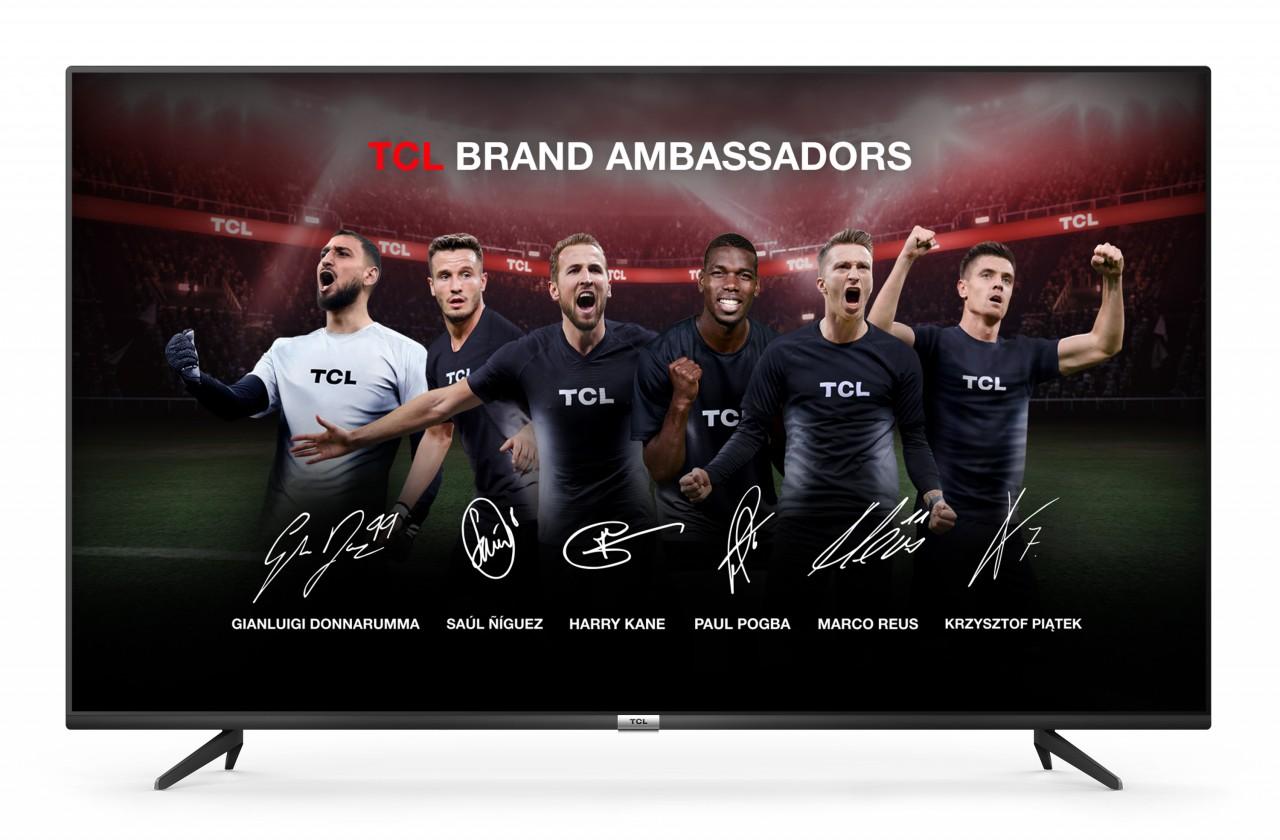 """TV s uhlopriečkou 55"""" (139 cm) Smart televízor TCL 55P615 (2020) / 55"""" (139 cm)"""