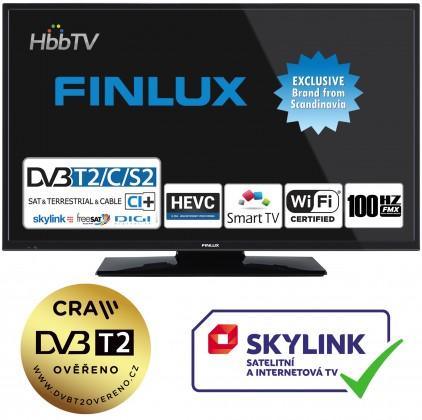 "TV s uhlopriečkou do 31"" (79 cm) Smart televize Finlux 24FHD5760 (2019) / 24"" (61 cm) ROZBALENÉ"