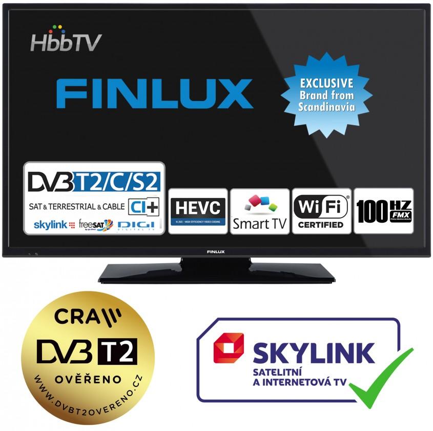 "TV s uhlopriečkou do 31"" (79 cm) Smart televize Finlux 24FHD5760 (2019) / 24"" (61 cm)"