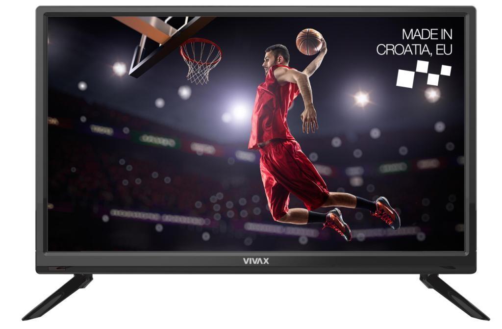 """TV s uhlopriečkou do 31"""" (79 cm) Televízor Vivax 24LE79T2S2 (2019) / 24"""" (60 cm)"""
