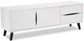TV stolík Sens (biela, čierna)