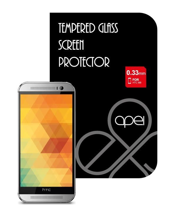 Tvrdené sklá Apei Glass Protector pre HTC ONE M8 (12116)
