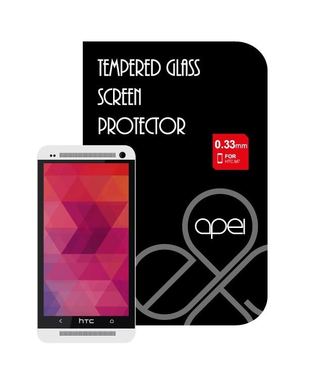 Tvrdené sklá Apei Glass Protector pro HTC One M7 (12121)