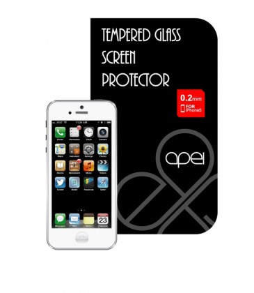 Tvrdené sklá Apei Glass Protector pro iPhone 5 (12111)