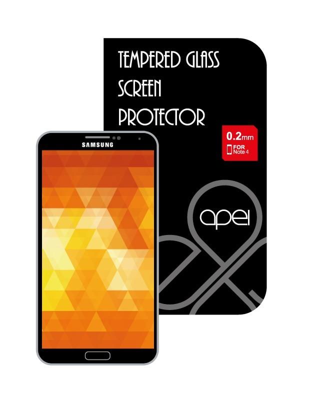Tvrdené sklá Apei Glass Protector pro Note 4 (12119)
