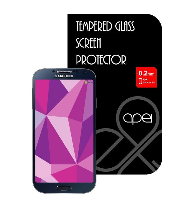 Tvrdené sklá Apei Glass Protector pro Samsung S4 (12112)