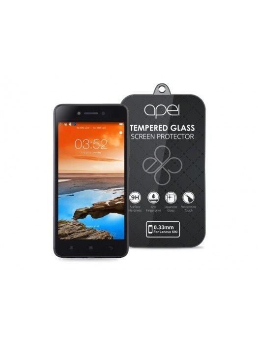 Tvrdené sklá Apei Slim Round Glass Protector (0,3mm) pro Lenovo S90