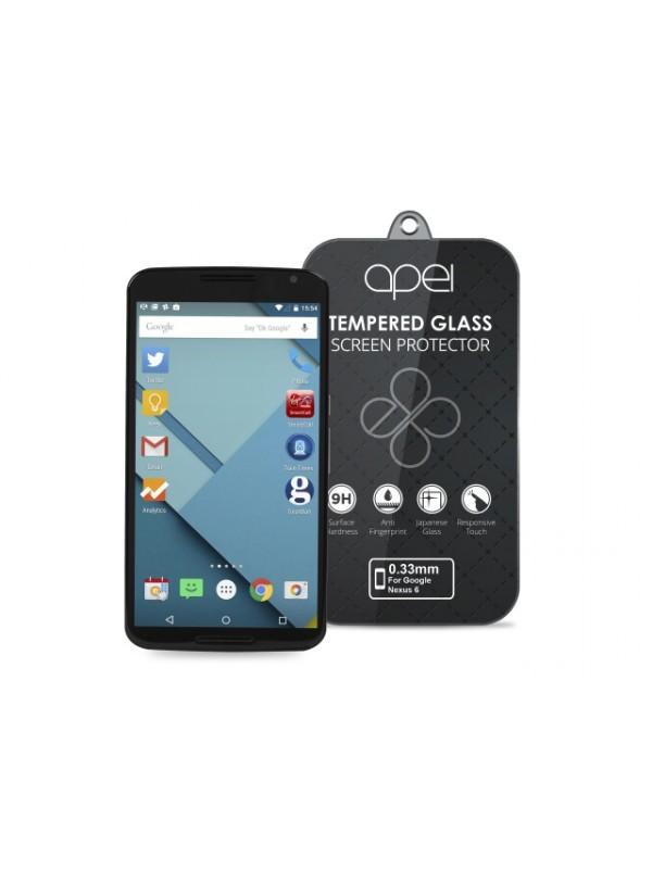 Tvrdené sklá Apei Slim Round Glass Protector for Google NEXUS 6 (0.3mm)