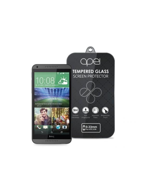 Tvrdené sklá Apei Slim Round Glass Protector for HTC 816 (0.3mm)