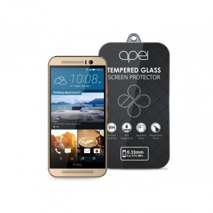 Tvrdené sklá Apei Slim Round Glass Protector for HTC One M9+  (0.3mm)