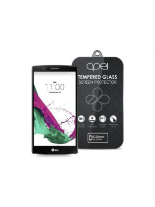 Tvrdené sklá Apei Slim Round Glass Protector for LG G4 (0.3mm)