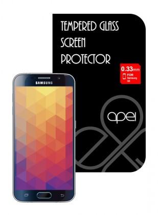 Tvrdené sklá Apei Slim Round Glass Protector for Samsung S6 (0.3mm)